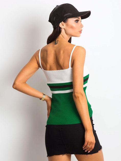 Biało-zielony top Tastemaker                              zdj.                              2
