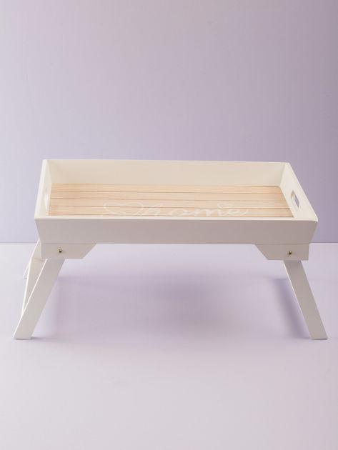 Biały stolik śniadaniowy                              zdj.                              2