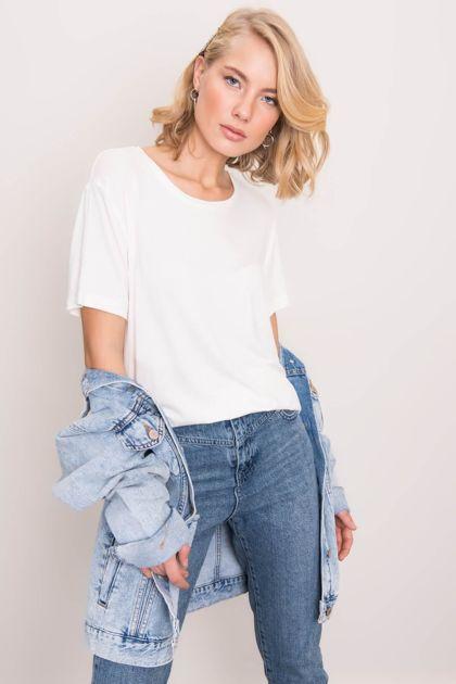 Biały t-shirt BSL