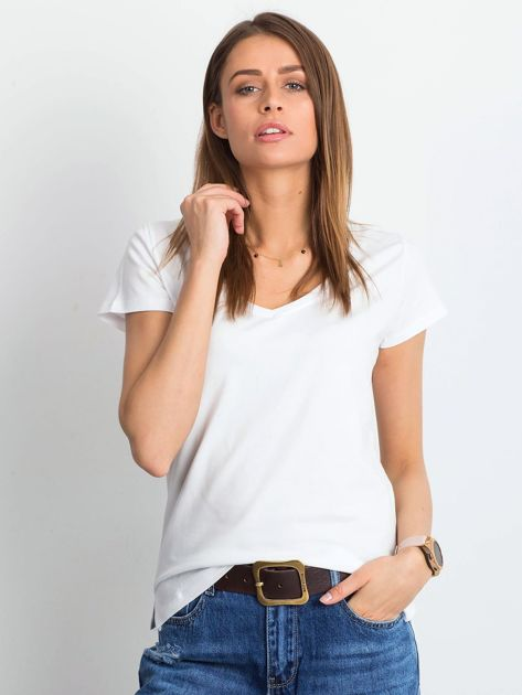 Biały t-shirt Square                              zdj.                              1