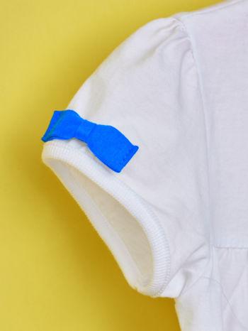 Biały t-shirt dla dziewczynki HELLO KITTY                                  zdj.                                  6