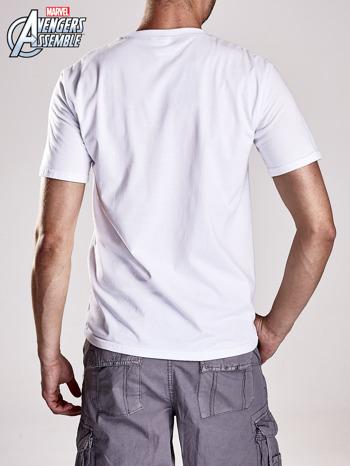 Biały t-shirt męski AVENGERS                                  zdj.                                  2