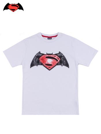 Biały t-shirt męski BATMAN V SUPERMAN                                  zdj.                                  10