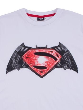 Biały t-shirt męski BATMAN V SUPERMAN                                  zdj.                                  12