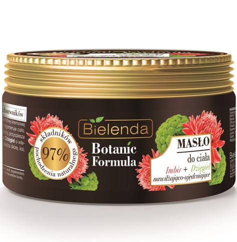 Bielenda Botanic Formula Imbir+Dzięgiel Masło do ciała 250 ml