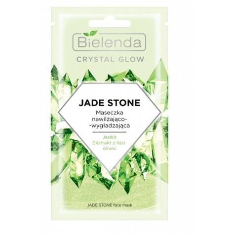 """Bielenda Crystal Glow Maseczka nawilżająco-wygładzająca Jade Stone  8g"""""""