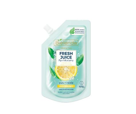 """Bielenda Fresh Juice Płyn micelarny orzeźwiający z wodą cytrusową Yuzu 45ml - doypack"""""""