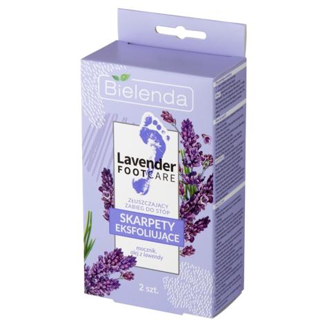 """Bielenda Lavender Foot Care Skarpety eksfoliujące - zabieg złuszczający do stóp  1para"""""""