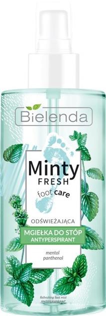 """Bielenda Minty Fresh Foot Care Mgiełka do stóp odświeżająca - antyperspirant 150ml"""""""