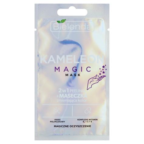 """Bielenda Peeling + Maseczka zmieniająca kolor 2w1 Kameleon Magic  8g"""""""