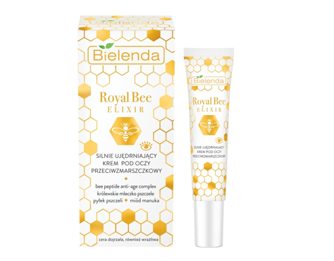 """Bielenda Royal Bee Elixir Krem pod oczy silnie ujędrniający przeciwzmarszczkowy 15ml"""""""