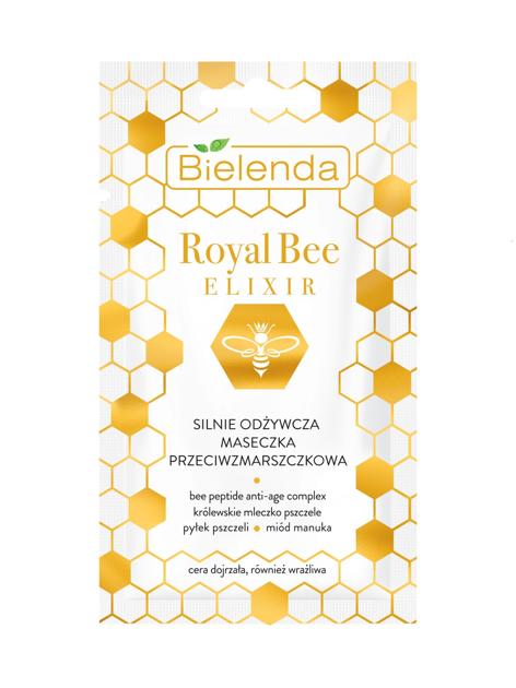 """Bielenda Royal Bee Elixir Silnie Odżywcza Maseczka przeciwzmarszczkowa 8g"""""""