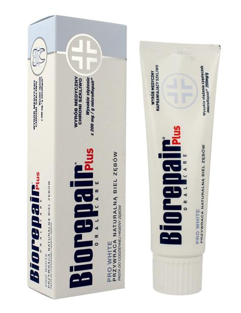 """Biorepair Oral Care Plus Pasta do zębów wybielająca Pro White  75ml"""""""