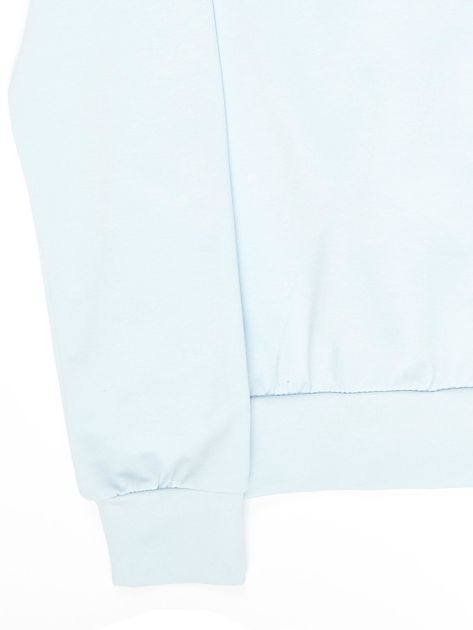 Błękitna bluza młodzieżowa                              zdj.                              4