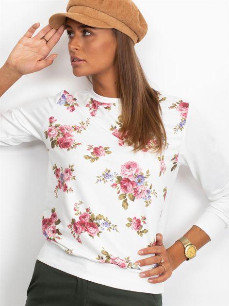 Bluza w różowe kwiaty                              zdj.                              4