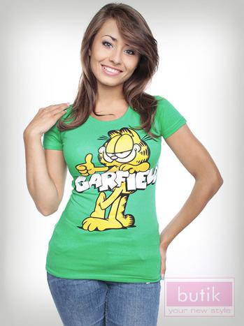 Bluzka z wizerunkiem Garfielda                                  zdj.                                  3