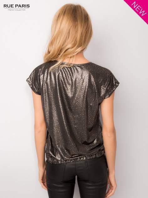Błyszcząca bluzka w stylu disco                                  zdj.                                  4