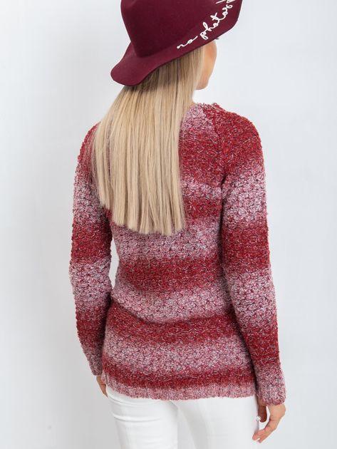 Bordowy sweter Loop                              zdj.                              2