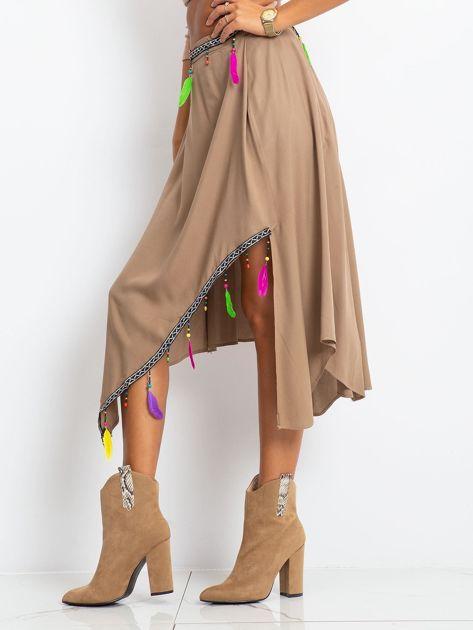 Brązowa spódnica AMAZON                              zdj.                              5