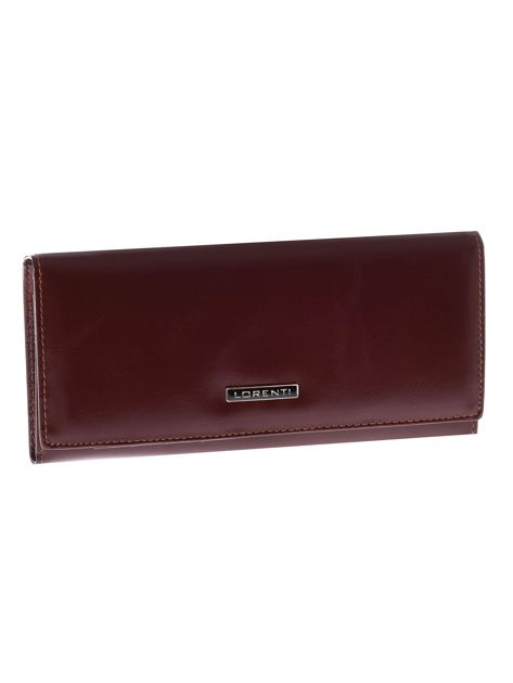 d74aba8ba761a Brązowy damski skórzany portfel - Akcesoria portfele - sklep eButik.pl
