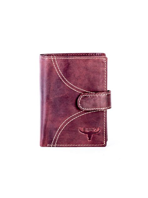Brązowy elegancki portfel dla mężczyzny                              zdj.                              5