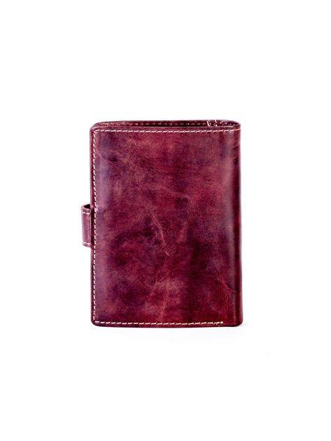 Brązowy elegancki portfel dla mężczyzny                              zdj.                              6