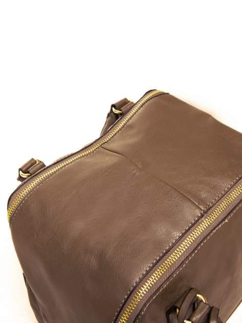 Brązowy miękki kuferek                                  zdj.                                  6