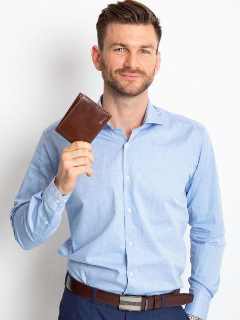 Brązowy portfel męski                              zdj.                              5