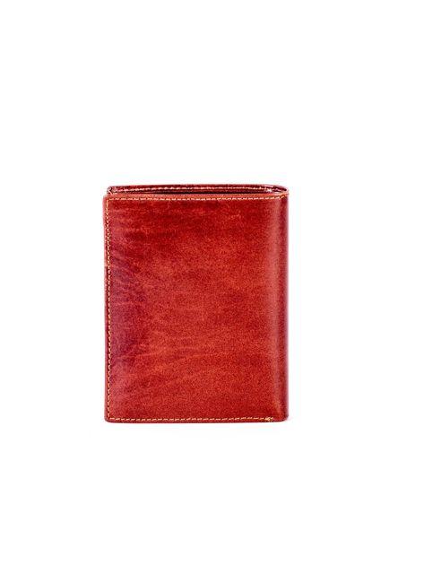 Brązowy skórzany portfel                               zdj.                              2