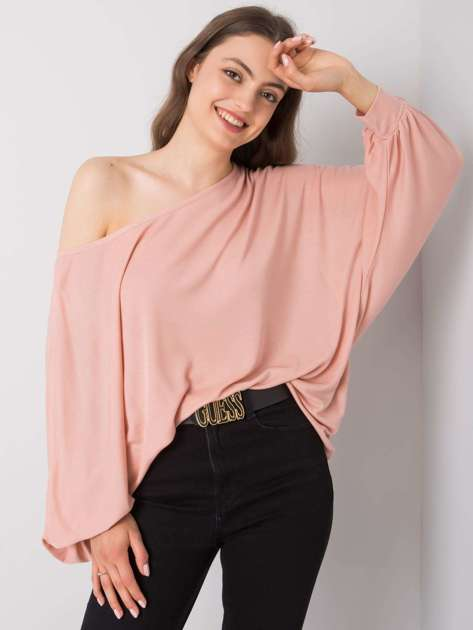 Brudnoróżowa bluzka Esther RUE PARIS