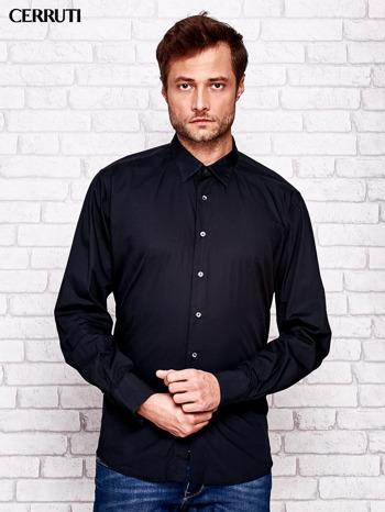 CERRUTI Czarna koszula męska                                  zdj.                                  1