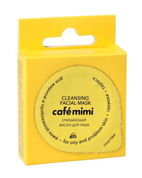 Cafe Mimi Maska do twarzy oczyszczająca 15ml