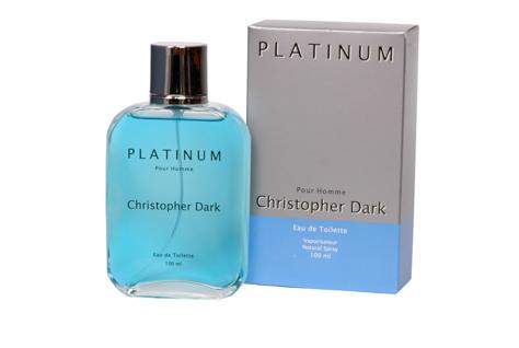 "Christopher Dark Men Platinum Woda Toaletowa 100ml"""