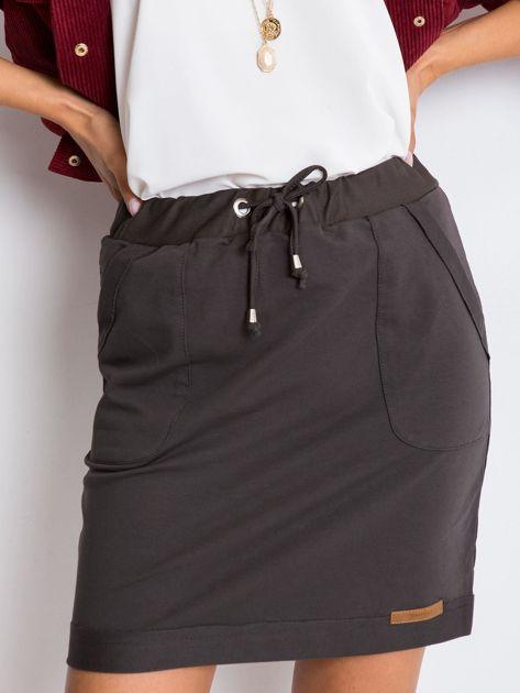 Ciemna khaki spódnica Opportunity                              zdj.                              1