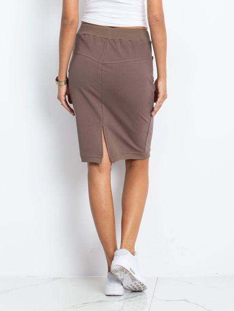 Ciemnobeżowa spódnica Features                              zdj.                              2