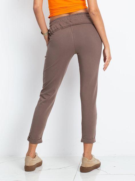 Ciemnobeżowe spodnie Approachable                              zdj.                              2