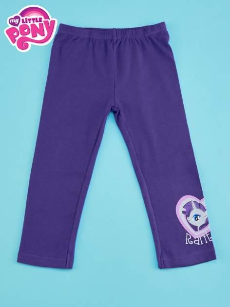 Ciemnofioletowe legginsy dla dziewczynki MY LITTLE PONY                                  zdj.                                  1