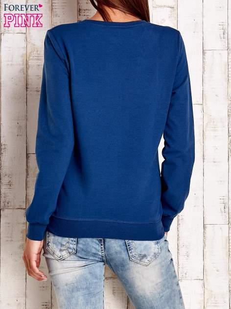 Ciemnoniebieska bluza z napisem ARIGATO                                  zdj.                                  4