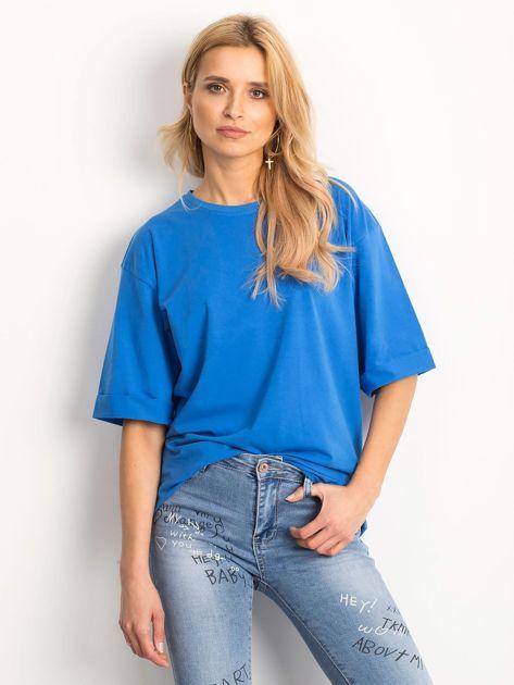 Ciemnoniebieska bluzka Celebration