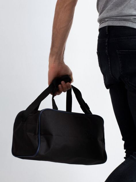 Ciemnoniebieska męska torba na ramię                              zdj.                              2