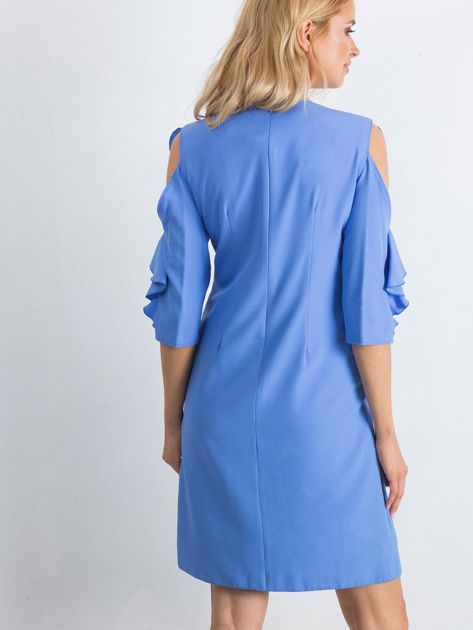 Ciemnoniebieska sukienka Brilliance                              zdj.                              2