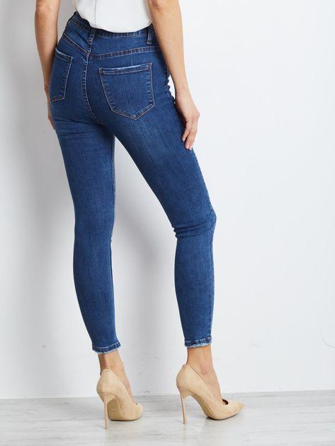 Ciemnoniebieskie jeansy Practice                              zdj.                              2