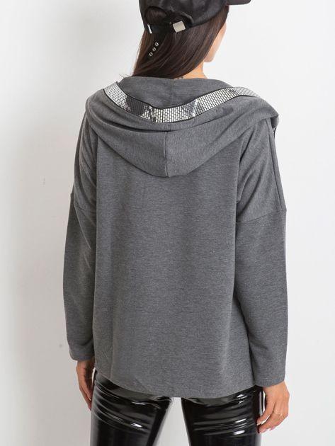 Ciemnoszara bluza Gianna                              zdj.                              2