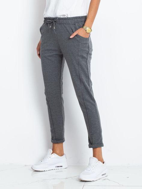 Ciemnoszare spodnie Approachable                              zdj.                              3