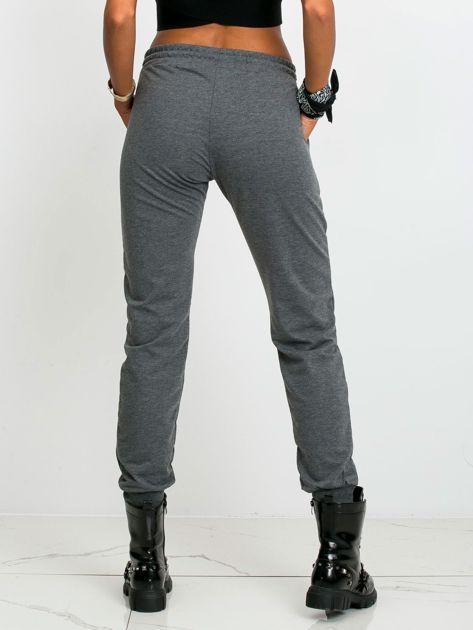 Ciemnoszare spodnie Faster                              zdj.                              2