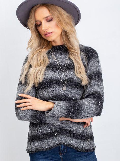Ciemnoszary sweter Melanie                              zdj.                              5