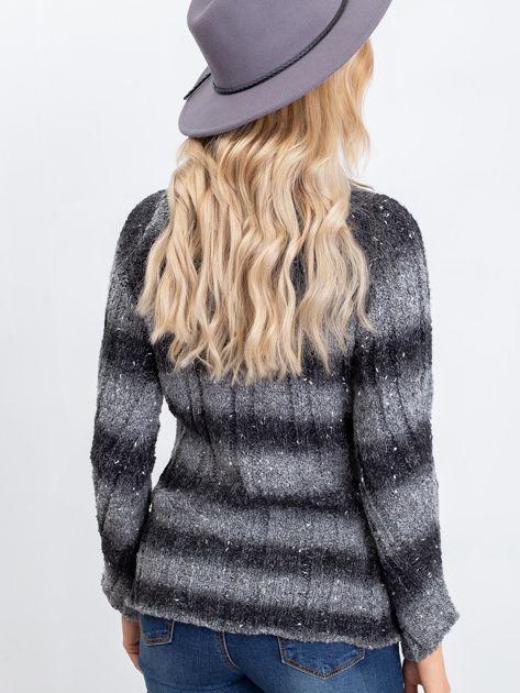Ciemnoszary sweter Melanie                              zdj.                              2