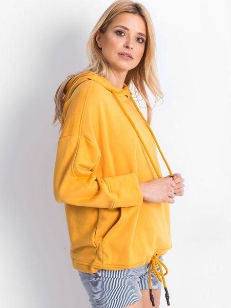Ciemnożółta bluza Replicating                              zdj.                              3