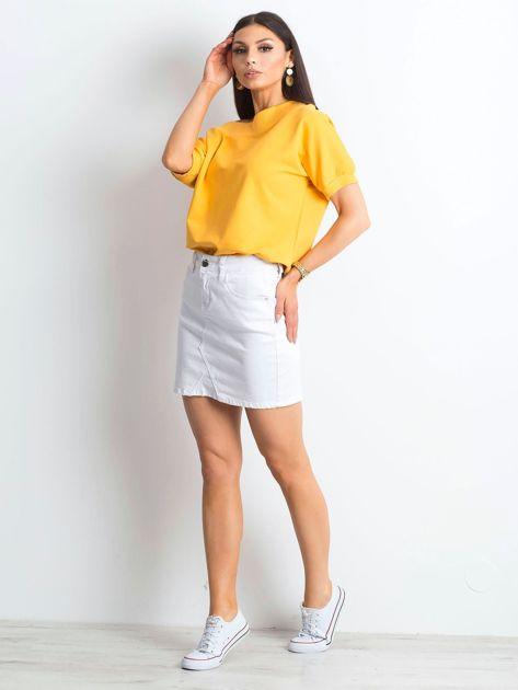 Ciemnożółta bluzka Lemontree                              zdj.                              4