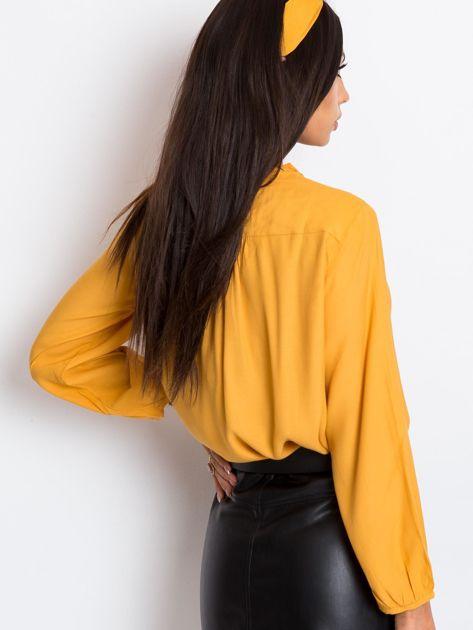 Ciemnożółta bluzka Thrill                              zdj.                              2